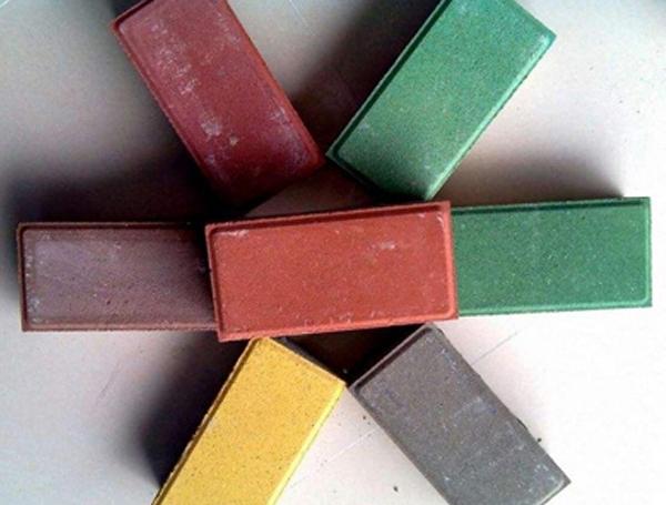 彩色道路砖